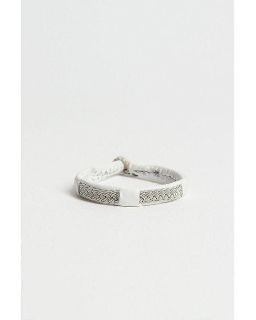 Maria Rudman - White A6 Bracelet - Lyst
