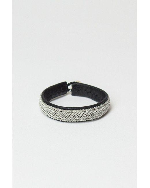 Maria Rudman - Black Bplus4 Bracelet - Lyst