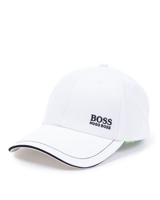 32f2d330edd0b8 BOSS - White Athleisure Logo Cap for Men - Lyst ...