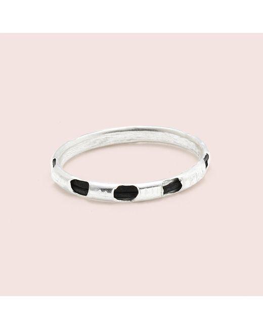 Erica Weiner   Metallic Elephant Hair Ring (silver)   Lyst