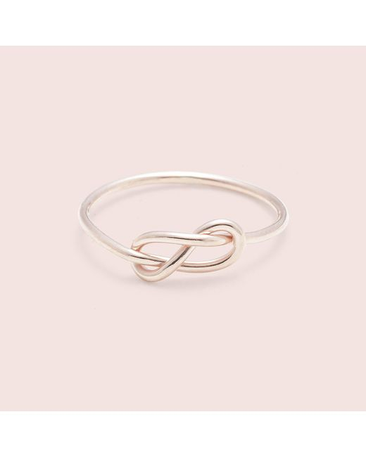 Erica Weiner | Pink Infinity Midi Ring (rose) | Lyst