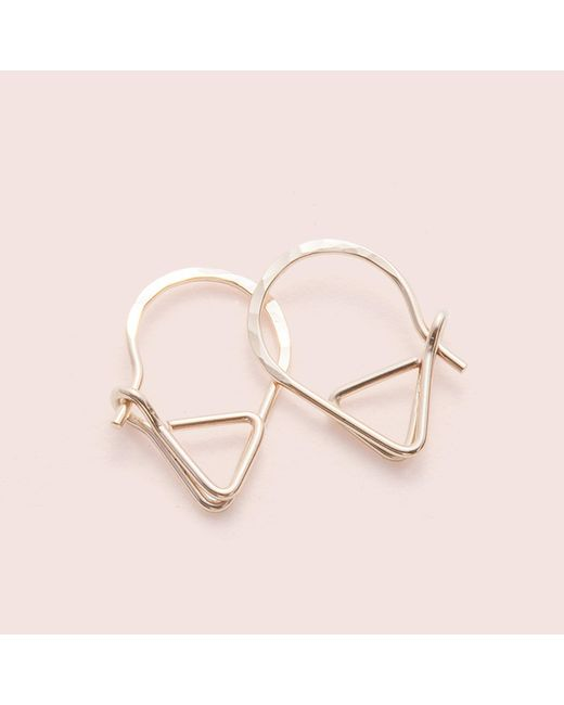 Erica Weiner - Sleeper Earrings (14k Yellow Gold And Yellow Gold Fill) - Lyst