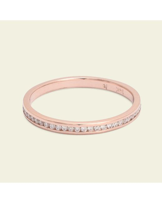 Erica Weiner - Pink Ethically Sourced Diamond Eternity Band - Lyst