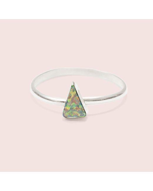 Erica Weiner | Black Isosceles Opal Ring | Lyst