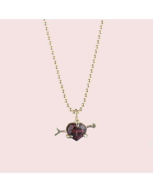 Erica Weiner - Red Cupid Necklace - Lyst