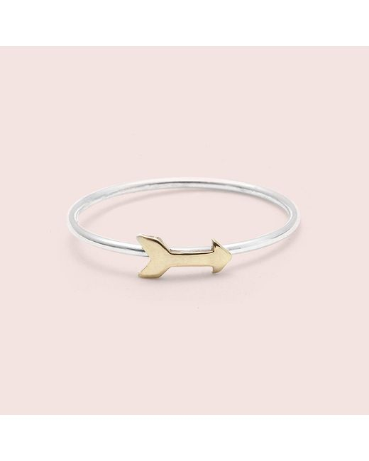 Erica Weiner - Metallic Arrow Ring - Lyst
