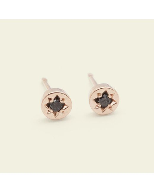 Erica Weiner - Metallic Gypsy Spark Earrings (14k Rose Gold) - Lyst
