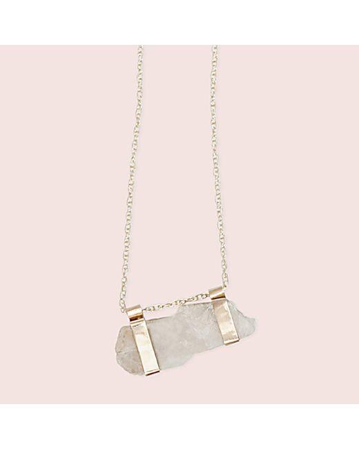 Erica Weiner - Metallic Moonstone Campaign Necklace - Lyst