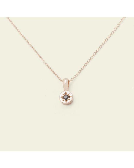 Erica Weiner - Metallic Gypsy Spark Necklace (14k Rose Gold) - Lyst