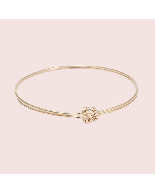 Erica Weiner - Pink Lover's Knot Bracelet - Lyst