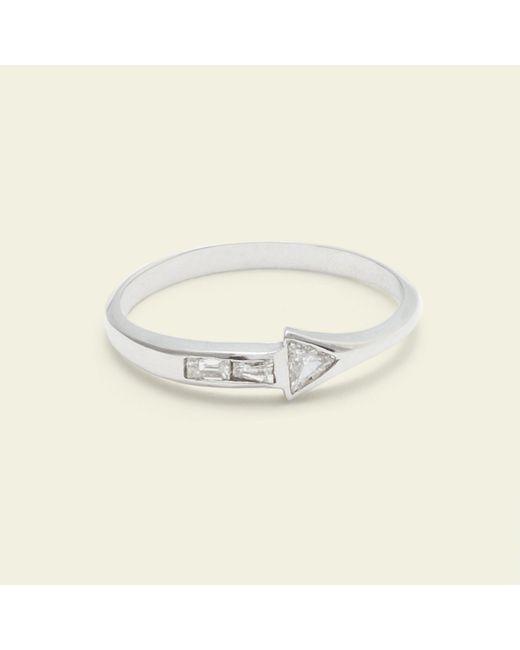 Erica Weiner - Metallic Journey Ring (14k White Gold) - Lyst
