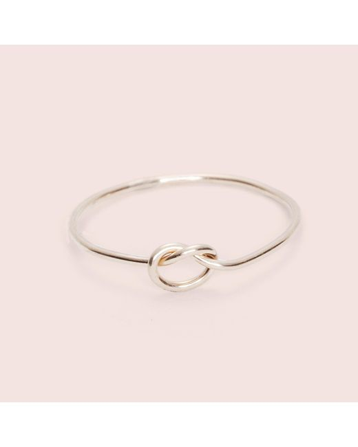 Erica Weiner - Metallic Knot Really Ring - Lyst