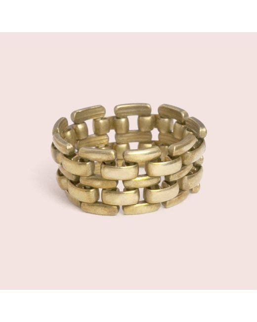 Erica Weiner | Metallic Flex Ring | Lyst