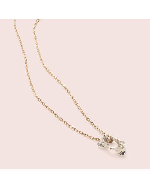 Erica Weiner - Metallic Pelvis Bone Necklace (bronze) - Lyst