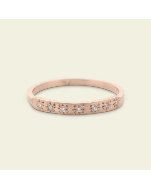Erica Weiner - Metallic Starry Night Ring (rose Gold) - Lyst
