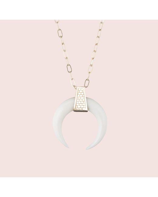 Erica Weiner   Multicolor Mystic Crescent Necklace   Lyst