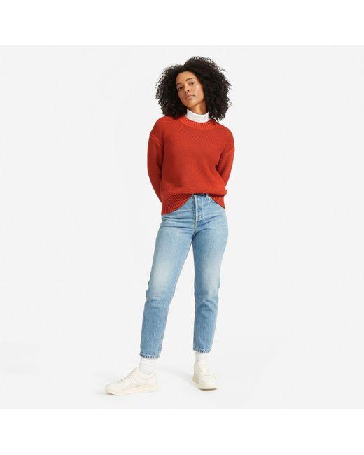 Everlane Multicolor The Link-stitch Crewneck Sweater