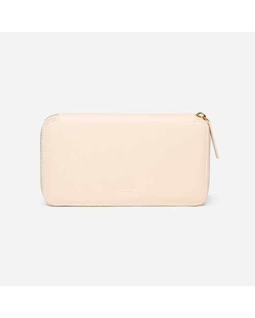 Everlane | Natural The Long Zip Wallet | Lyst