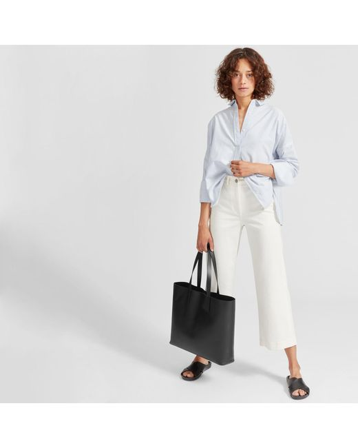 4bcf6536f7b0 Everlane - Black The Day Market Tote - Lyst ...