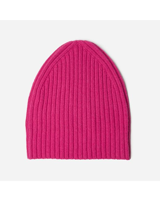 Everlane | Pink The Wool-cashmere Beanie | Lyst