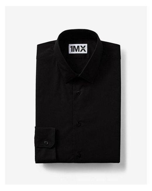 Express - Black Slim Fit 1mx Shirt for Men - Lyst