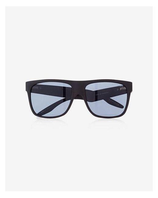 14064af1ae Express Matte Rubber Square Sunglasses in Black for Men - Save 4% - Lyst