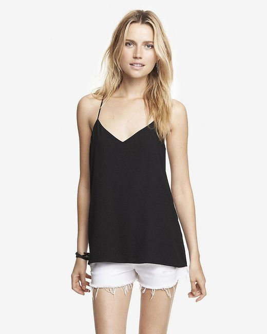 Express | Black Barcelona Cami | Lyst