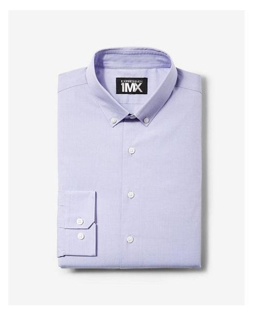 Express - Purple Modern Fit Easy Care 1mx Shirt for Men - Lyst