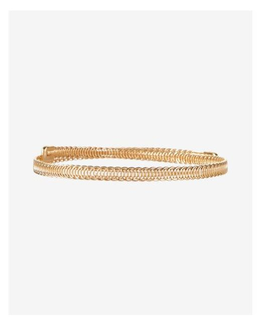 Express | Metallic Circle Braid Metal Choker Necklace | Lyst