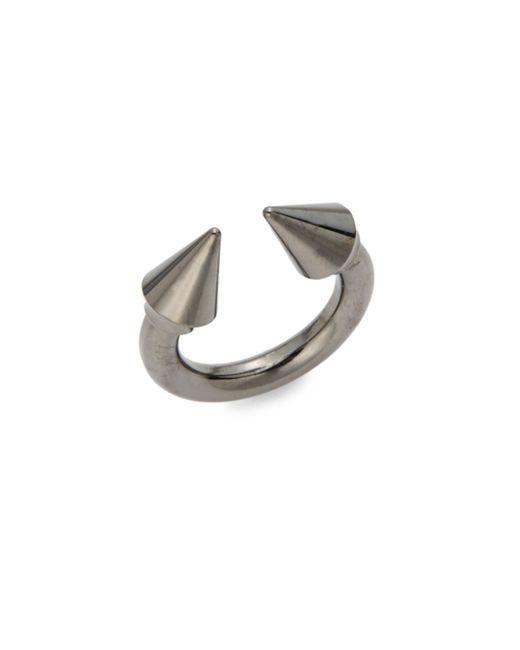 Vita Fede | Metallic Titan Spike Ring/gunmetal-tone | Lyst