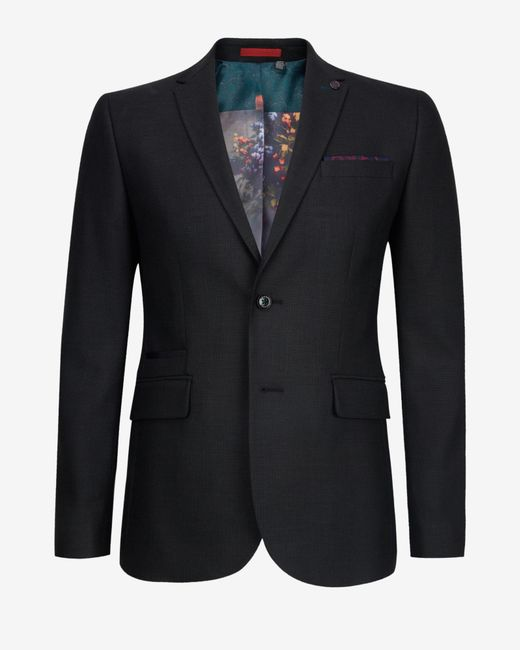 Ted Baker | Gray Birdseye Jacket for Men | Lyst