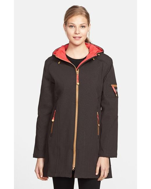 Ilse Jacobsen | Black Hornbaek 'rain 7' Hooded Waterproof Coat | Lyst