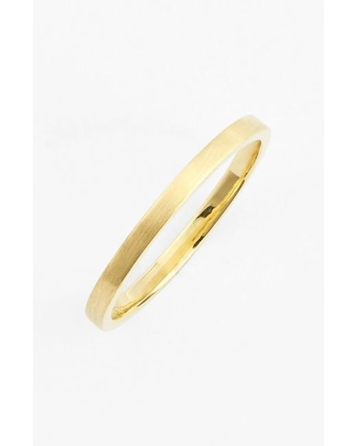 Bony Levy | Yellow 14k Gold Midi Ring (nordstrom Exclusive) | Lyst