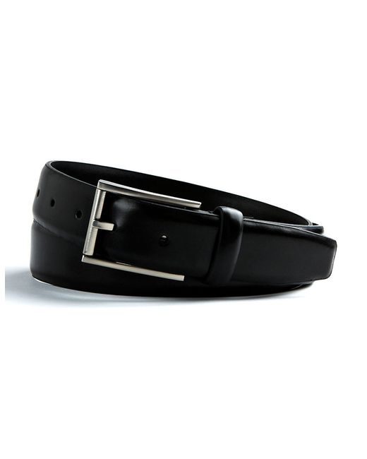 Calvin Klein | Black Leather Belt for Men | Lyst