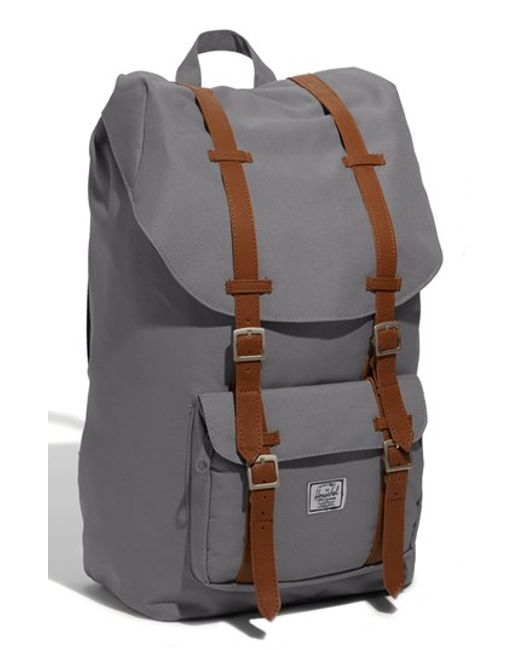 Herschel Supply Co. | Gray 'little America' Backpack for Men | Lyst
