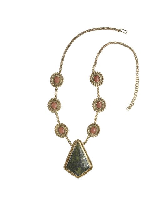 Vanilo - Metallic Augusta Necklace - Lyst