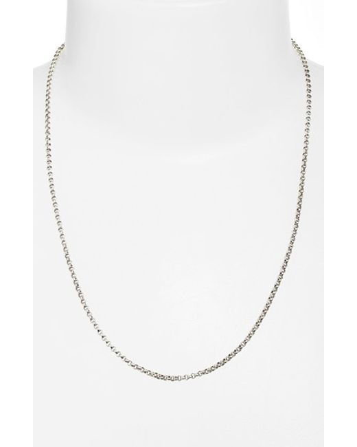 Konstantino | Metallic 'classics' Link Necklace | Lyst
