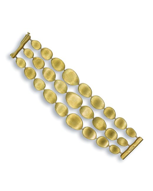 Marco Bicego | Metallic Lunaria 18k Triple-row Bracelet | Lyst