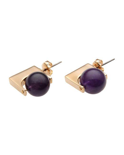 Uribe | Purple Earrings | Lyst