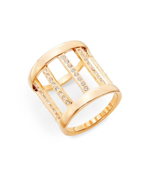 Vita Fede | Pink Pandora Crystal Ring/rose Goldtone | Lyst