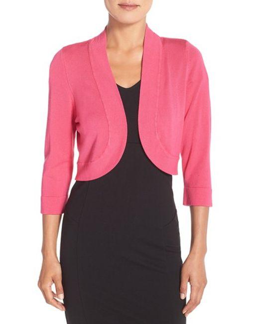 Fuschia Pink Cardigan - Long Sweater Jacket