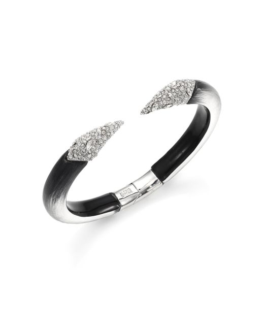 Alexis Bittar | Metallic Lucite Glacial Crystal Talon Cuff Bracelet/two-tone | Lyst