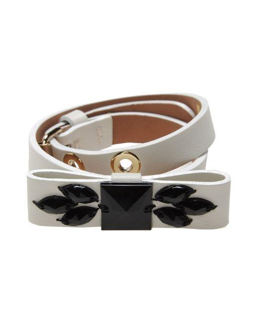 Schumacher | White Bracelet | Lyst