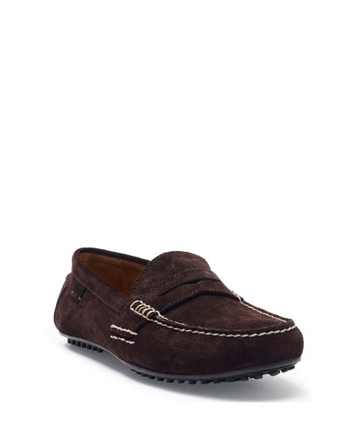 Polo Ralph Lauren   Brown Suede Loafer for Men   Lyst