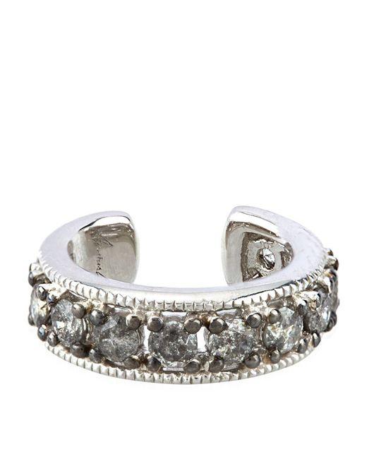 Annoushka | Metallic White Gold Dusty Diamonds Ear Cuff | Lyst