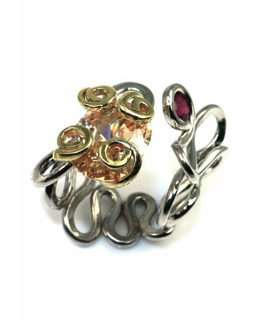 Sibilla G Jewelry | Metallic Sibilla G Cool Jazz Citrine Ring | Lyst