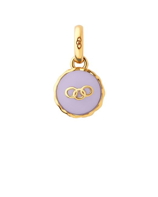 Links of London | Purple Gold Vermeil Lavender Macaron Charm | Lyst