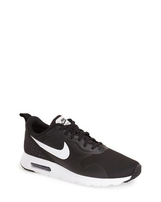 Nike | Black Air Max Tavas Mesh Sneakers for Men | Lyst