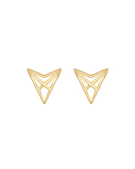 Dutch Basics | Metallic Hef Studs Gold | Lyst