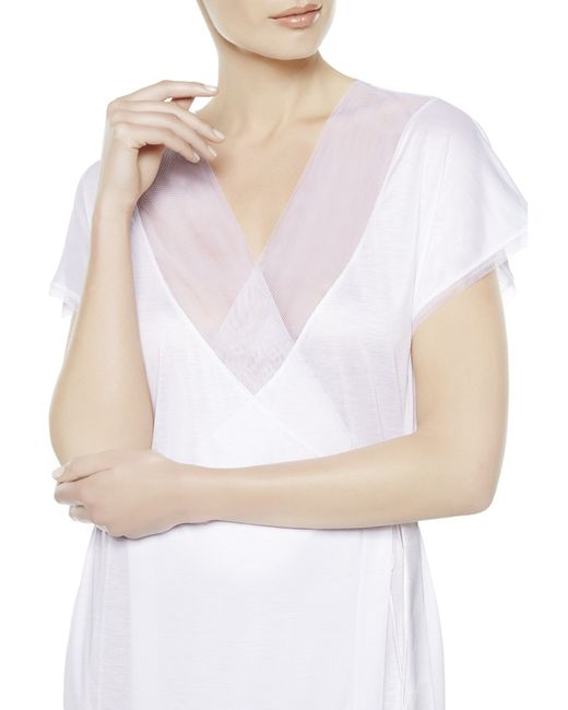 La Perla | White Night Robe | Lyst